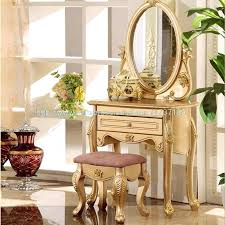 bedroom contemporary gold and white dresser makeup