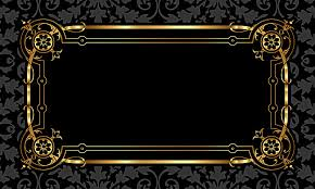 black and gold frame png. Delighful Png Black Gold Frame Pattern Background Material In And Gold Frame Png