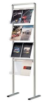 Free Standing Literature Display Magnificent 32 Best Brochure Stand Images On Pinterest Brochure Stand