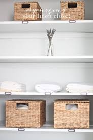 simple tips ideas to organize your linen closet without the stress