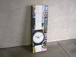 1992 vintage swatch maxi watch wall