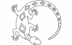 Small Picture Collection of Solutions Lizard Coloring Pages To Print Also Letter