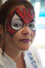 pixie s face painting portraits lovely spider girl boy mask design