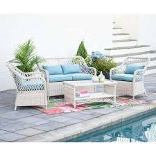 white patio furniture when you are not