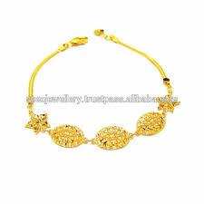 dubai middle east arabic pure gold jewelry light weight 18k 21k 22k fine yellow gold bracelet