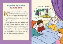 Truyện ngụ ngôn cho bé tập đọc ( Tranh màu )   The King of Books