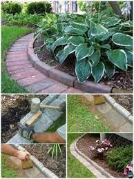diy brick garden edging 20 creative