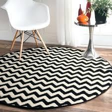 chevron rugs chevron vibe zebra black white rug 5 3 round photo chevron area rugs target
