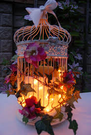 Enchanted Forest Wedding Theme Decorations | Add sparkle to evening  reception with these enchanted bird cages