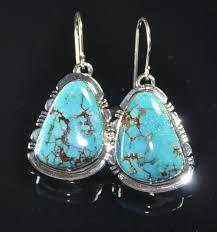 native american turquoise earrings