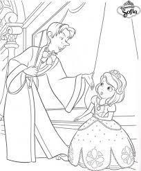 Coloriage Princesse Sofia Et Cedric Anniv Chlo Pinterest
