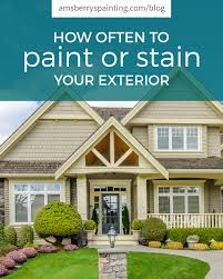 06 apr how often to paint or stain your house exterior