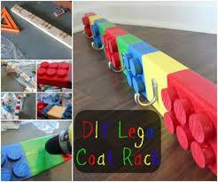 Lego Coat Rack