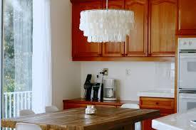 kitchen engaging capiz chandelier rectangular 13 img 9957 glamorous capiz chandelier rectangular 20 sea pottery barn