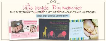 Shutterfly Baby Shower Planning Ideas Personalized Baby Cards And