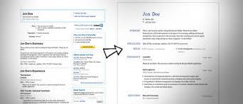 Linkedin Cv Presentation Vs The Old Fashioned Cv