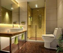 Bathroom:Gorgeous Small Guest Bathroom Idea With Solid Beige Countertop And  Under Mount Sink Gorgeous