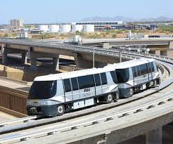 Mover System Phx Sky Train Stage 2 Automated People Mover System