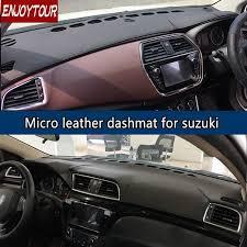 for suzuki alivio ciaz sx4 s cross neo baleno leather dashmat dashboard cover prevent sunlight pad dash mat