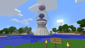 Giant Lava Lamp Minecraft