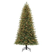 Holiday Living 7.5-ft Pre-lit Norway Spruce Artificial Christmas Tree with  500 Constant
