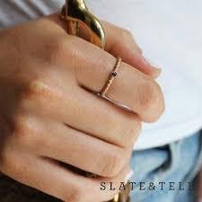 birthstone rings slate tell