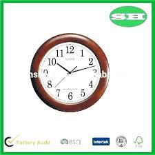 wall clock ogue premium og and digital silent sweep movement large atomic