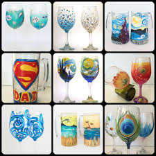 wine glass painting party milwaukee designs