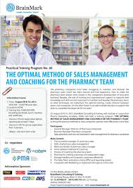 the optimal method of s management and coaching for the coaching pharmacy