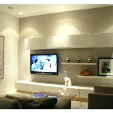 Wall Unit Lighting Photo Via Under Battery Lights Home House Of Paws
