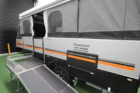 Camper Trailer Kitchen Designs Go Off Road With A Wheelchair Accessible Camper Trailer From