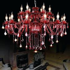 modern red chandeliers modern red crystal chandelier for living dining room bedroom restaurant lamp chandeliers lighting