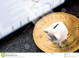 Investing In Golden Coins Stock Image Image Of Cash 98041673