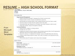 Gallery Of Teenage Resume Template Resume Format For Teenagers