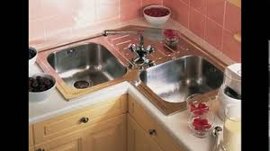 Small L Shaped Kitchen Design Corner Sink Youtube In Remodel