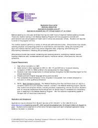 Cover Letter Medical Job Adriangatton Com