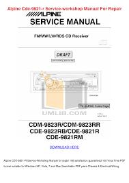 free pdf for alpine mrp m850 car amplifier manual rh umlib com car amplifier repair parts car repair amp service