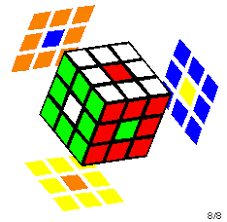 Pattern To Solve Rubik's Cube Amazing Making Patterns With Rubik's Cube
