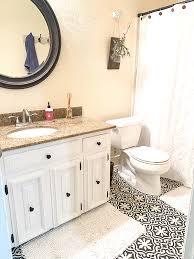 diy painted bathroom vanity our