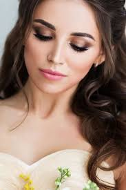 30 bright wedding makeup ideas for brunettes wedding makeup for brunettes bronze makeup with rose