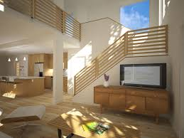 Simple Living Room Under The Stairs Designs Ideas