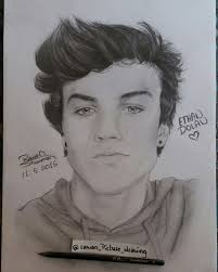 28 collection of ethan drawing