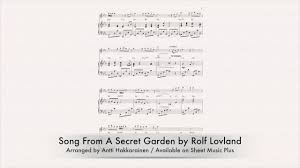 a secret garden flute piano