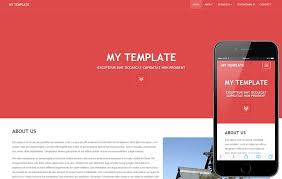 tamplate my template a general purpose bootstrap responsive web template by