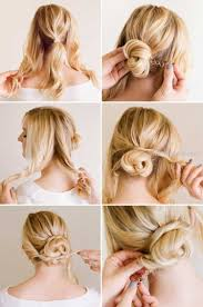 Einfache Hochsteckfrisuren Step By Step I Hairstyles Com Hair