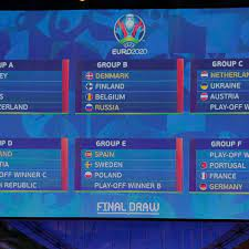 Euro 2020 fixtures and full schedule for next summer's historic tournament  - Mirror Online