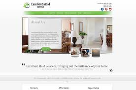 web design for excellent maid service ozzy rodriguez web design for excellent maid service