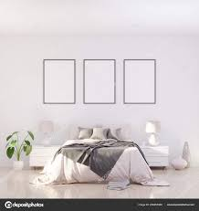 Bright And Cozy Modern Bedroom Interior Design Light Walls
