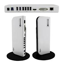 superspeed usb 3 0 universal docking station and audio ports