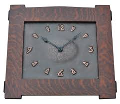 arts and crafts clock arts and crafts copper wall clock on wall clock arts and crafts with arts and crafts style hand crafted hand hammered copper clocks and